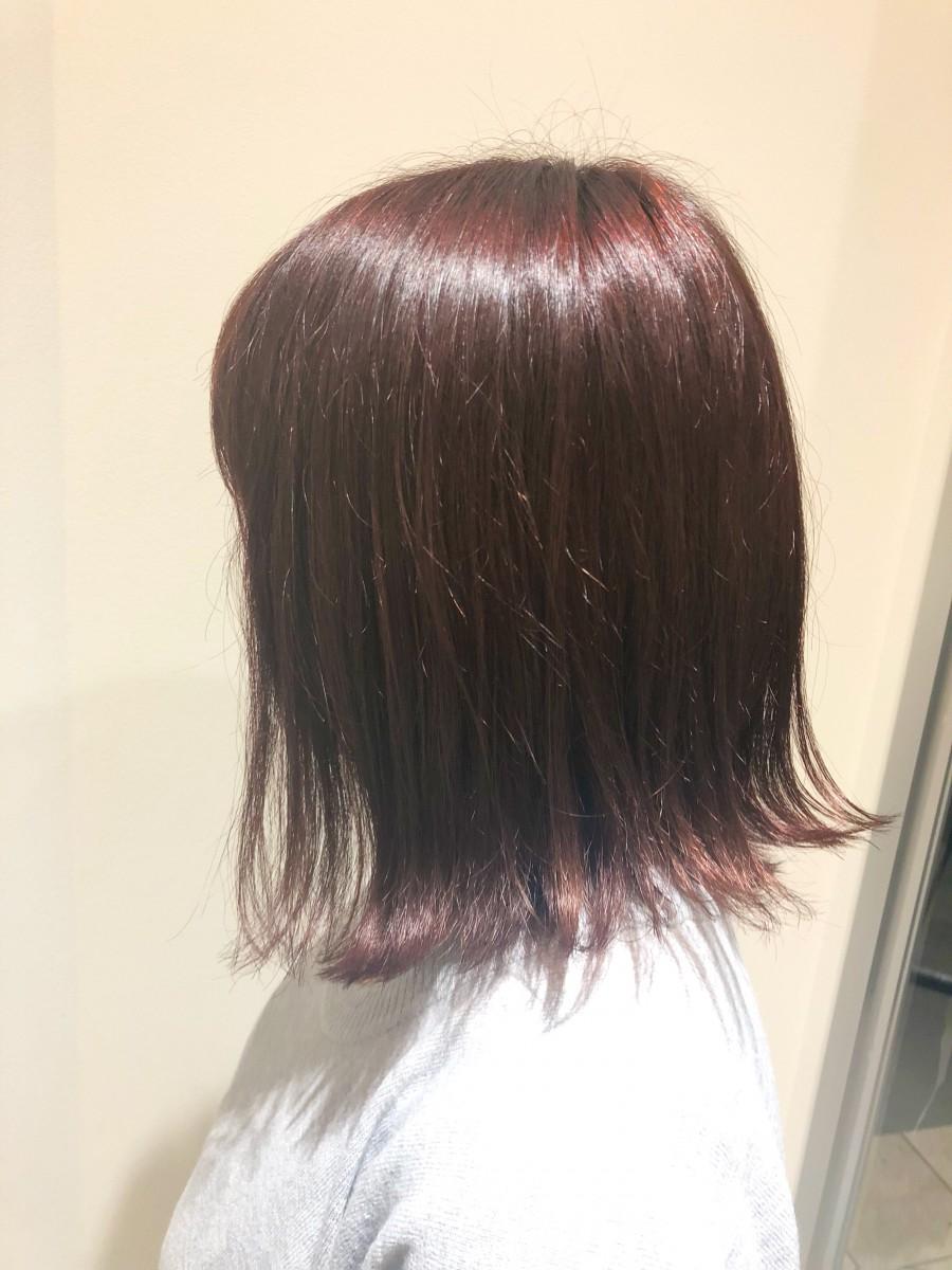 紅葉感!抜群!暗髪カラー☆