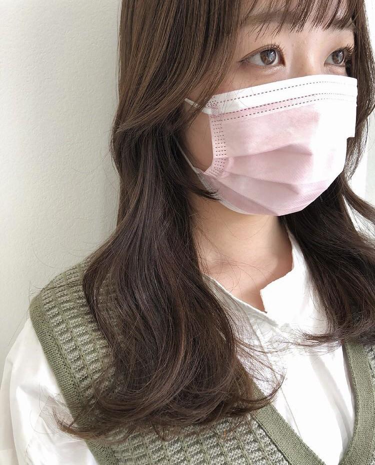 韓国風顔まわりカット
